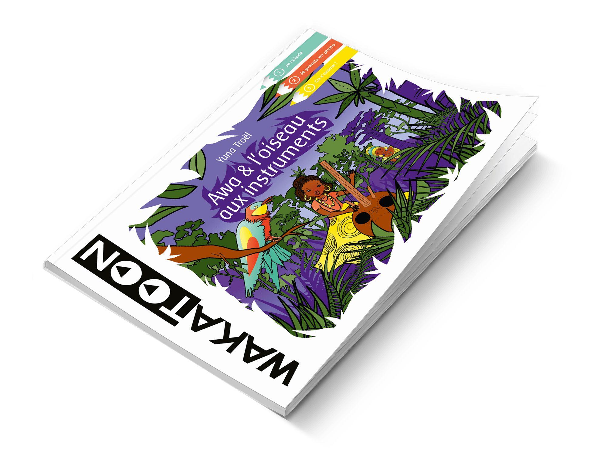 Livres De Coloriages Animés Le Catalogue Wakatoon