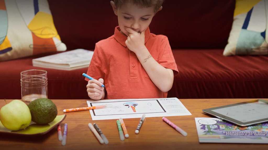 L'application Wakatoon permet de libérer la créativité de vos enfants grâce à une activité ludique : le coloriage animé. Les enfants colorient les dessins puis les prennent en photo pour les voir se transformer en un véritable dessin animé.